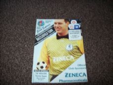 Macclesfield Town v Southport, 1993/94